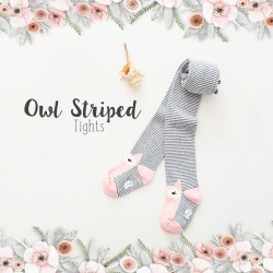 Owl Striped Tight