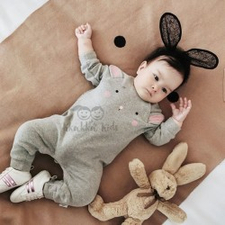 Blush Bunny Romper
