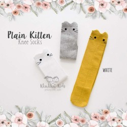 Plain Kitten Knee Socks