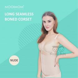 Mooimom - Long Seamless Boned Corset (C2903)