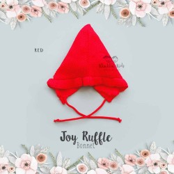Joy Ruffle Bonnet