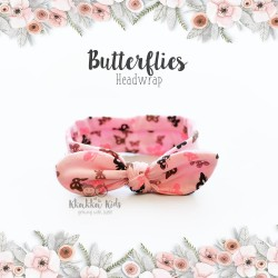 Butterflies Headwrap