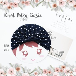 Knot Polka Basic Turban