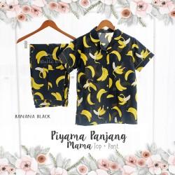 Piyama Panjang Mama Top + Pant