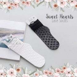 Sweet Hearts Lace Sock