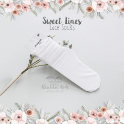Sweet Lines Lace Sock