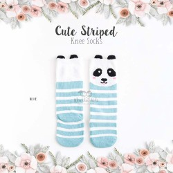Cute Striped Knee Socks