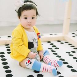 Elmo Face Knee Socks