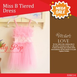Miss B Tiered Dress