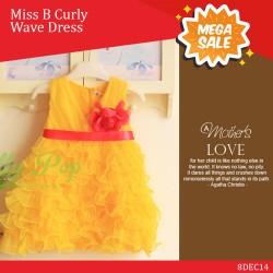 Miss B Curly Wave Dress