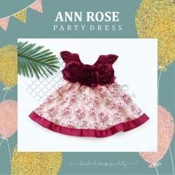 Ann Rose Party Dress