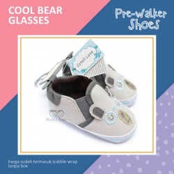 Cool Bear Glasses Pre-Walker Shoes