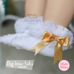 Big Bow Tutu Socks
