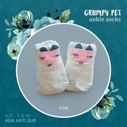 Grumpy Pet Ankle Sock