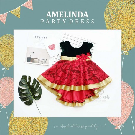 Amelinda Party Dress