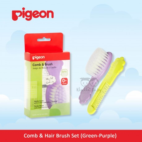 ... Ntr Pigeon Comb & Hair Brush Set Sisir Sikat Rambut Bayi Daftar Source Beli Comb Brush