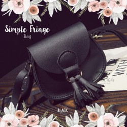 Simple Fringe Bag