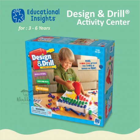 Educational Insights - Design & Drill® Activity Center