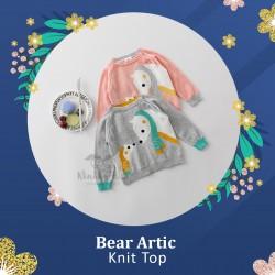 Bear Artic Knit Top