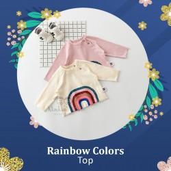 Rainbow Colors Top
