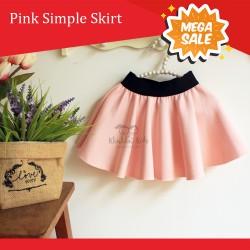 Pink Simple Skirt
