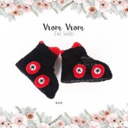 Vrom Vrom Fur Socks