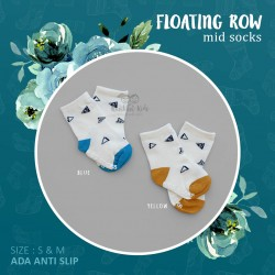 Floating Row Mid Sock