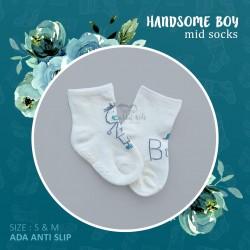 Handsome Boy Mid Socks