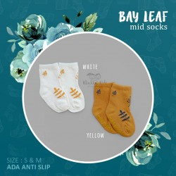 Bay Leaf Mid Sock