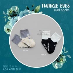 Twinkle eyes mid socks