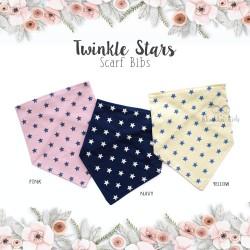 Twinkle Stars Scarf Bib