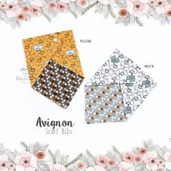 Avignon scarf bib