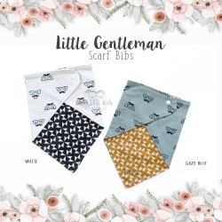 Little Gentleman Scarf Bibs