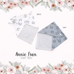 Annie fran scarf bib