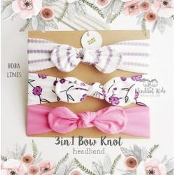 3 in 1 Bow Knot Headband
