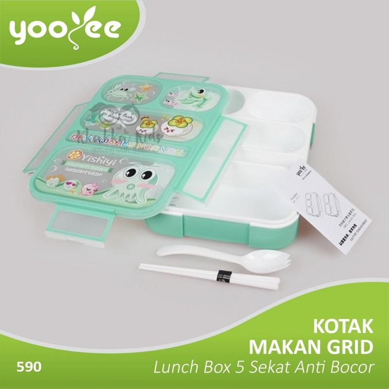 Lunch Box Kotak Makan 4 Sekat Bento Yoyee 578. Source · Yooyee - Bento 5