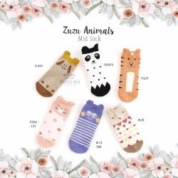 Zuzu Animals Mid Sock