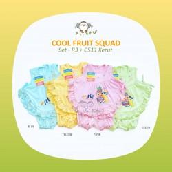 Piteku - Cool Fruit Squad Set - R3 + C511 Kerut