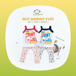 Piteku - Best Mommy Ever Set (Top+Pant)