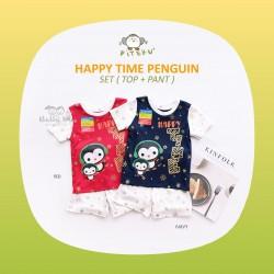 Piteku - Happy Time Penguin Set (Top+Pant)