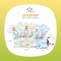 Piteku - Lets Go Boy Set (Top+Pant)