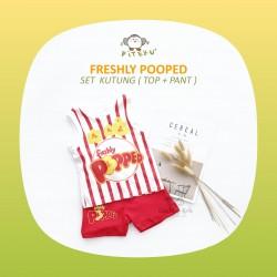 Piteku - Freshly Popped Set Kutung (Top + Pant)