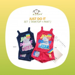 Piteku - Just Do It Set (Tank Top + Pant)
