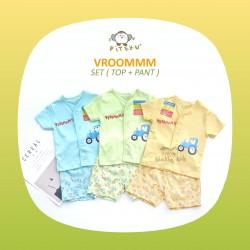 Piteku - Vroommm Set (Top + Pant)