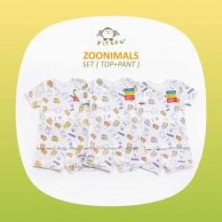 Piteku - Zoonimals Set (Top + Pant)