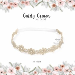 Goldy Crown Hairband