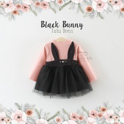 Black Bunny Tutu Dress