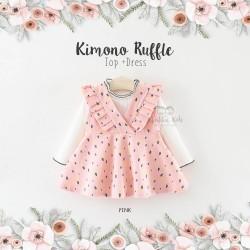 Kimono Ruffle Top + Dress