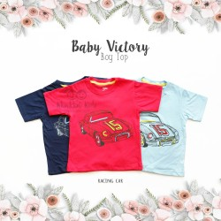 Baby Victory Boy Top - Racing Car
