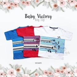 Baby Victory Boy Top - Railways